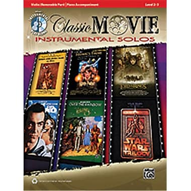 Alfred Classic Movie Instrumental Solos for Strings - Music Book(ALFRD48488)