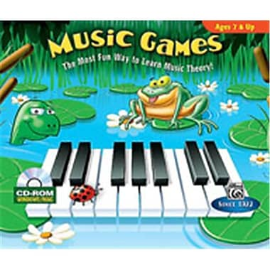 Alfred Music Games - Music Book(ALFRD48538)