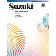 Alfred Suzuki Violin School Violin Part & CD- Volume 1 - Music Book(ALFRD46648)