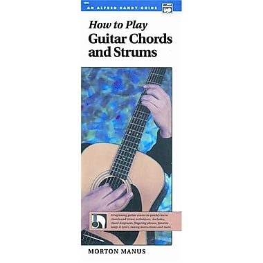Alfred How to Play Guitar Chords and Strums - Music Book(ALFRD35956)