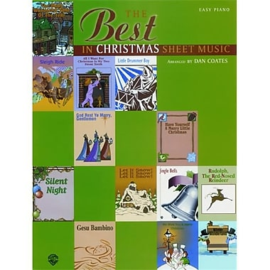 Alfred The Best in Christmas Sheet Music - Music Book(ALFRD41103)