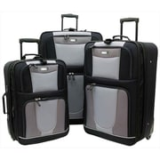 Overland Travelware Carnegie Expandable Luggage Set - Piece of 3(OLND003)