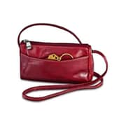 David King & Co Florentine Top Zip Mini Bag - Cherry(DVDK766)