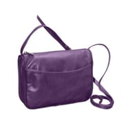 David King & Co Florentine Top Zip Open Front Pocket - Purple(DVDK808)