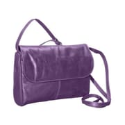 David King & Co Florentine Flap Front Handbag - Purple(DVDK813)