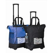 Preferred Nation On the go Rolling Tote - Black(PFNT025)