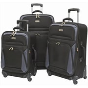 Overland Travelware Brentwood Spinner Wheel Luggage Set - Piece of 2(OLND005)