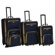 Rockland Deluxe 4 Piece Luggage Set(FXL334)