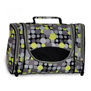 Everest 578DLX-YE-GRY DOT Deluxe Toiletry Bag - Yellow Gray Dot(EVRT734)