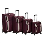 ROCKLAND 4PC IMPACT SPINNER LUGGAGE SET(FXL053)