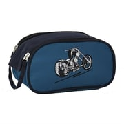 Obersee Kids Toiletry & Accessory Bag - Blue Motorcycle(HLMN192)