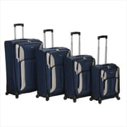 ROCKLAND F155-NAVY 4PC IMPACT SPINNER LUGGAGE SET(FXL054)