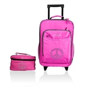 Obersee Kids Luggage & Toiletry Bag Set - Peace(HLMN177)