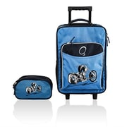 Obersee Kids Luggage & Toiletry Bag Set - Motorcycle(HLMN165)