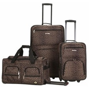 FOX LUGGAGE 3 PC LUGGAGE SET - LEOPARD(FXL432)