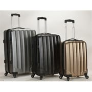 Rockland 3Pc Metallic Polycarbonate-Abs Upright Set(FXL312)