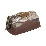 Canyon Outback Leather Realtree Collection Water Resistant Toiletry Bag, Camouflage(ECWE237)
