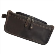 Canyon Outback Leather Taylor Falls Leather Toiletry Bag, Distressed Brown(ECWE252)