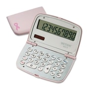 Victor Technologies 909-9 Limited Edition Pink Compact Calculator, 10-Digit LCD(AZERTY21978)