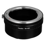 Fotodiox Lens Mount Adapter - Nikon Nikkor F Mount D-SLR Lens To Sony Alpha E-Mount Mirrorless Camera Body(FTDX1282)