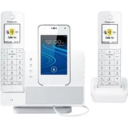 Panasonic Consumer Link 2 Cell Dock Style - Bluetooth - 2 Headset - White(TDKXPRD262W)