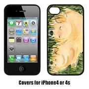 Carolines Treasures Golden Retriever Iphone 4 Cover(CRLT14614)