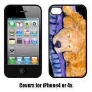 Carolines Treasures Golden Retriever Iphone 4 Cover(CRLT14722)