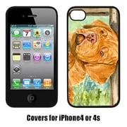 Carolines Treasures Dogue De Bordeaux Iphone 4 Cover(CRLT14739)