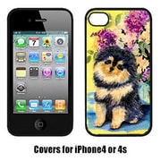 Carolines Treasures Pomeranian Cell Phone cover IPhone 4(CRLT15513)