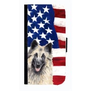 Carolines Treasures USA American Flag Belgian Tervuren Cell Phone Case Cover For Iphone 4 Or 4S(CRLT33580)