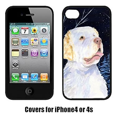 Carolines Treasures Starry Night Clumber Spaniel Cell Phone cover IPhone 4(CRLT15866)