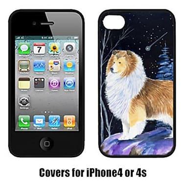 Carolines Treasures Starry Night Sheltie Cell Phone cover IPhone 4(CRLT15925)