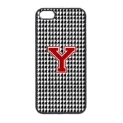 Carolines Treasures 3 x 5 in. Houndstooth Black Letter Y Monogram Initial Cell Phone Cover for iPhone 5(CRLT19051)