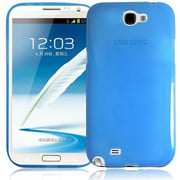 RND Accessories TPU Protective Case For Samsung Galaxy Note II - Transparent Blue(RNDP091)