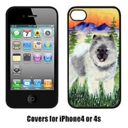 Carolines Treasures Keeshond Cell Phone cover IPhone 4(CRLT15227)