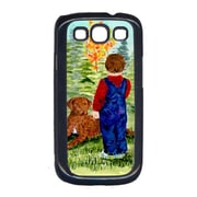 Carolines Treasures Little Boy With His Chesapeake Bay Retriever Cell Phone Cover For Galaxy S111(CRLT16305)
