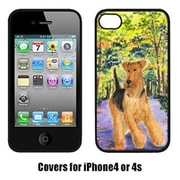 Carolines Treasures Airedale Cell Phone cover IPhone 4(CRLT15270)