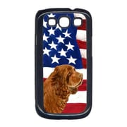Carolines Treasures USA American Flag with Sussex Spaniel Cell Phone Cover GALAXY S111(CRLT33021)