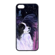 Carolines Treasures Starry Night Papillon Cell Phone Cover Iphone 5(CRLT13603)