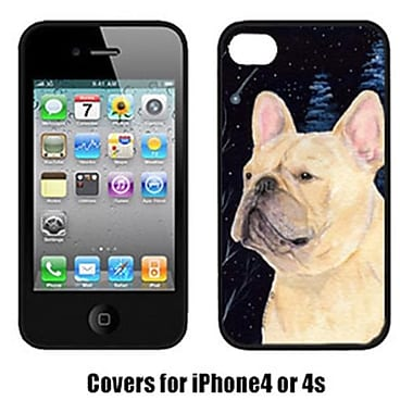 Carolines Treasures Starry Night French Bulldog Cell Phone Cover Iphone 4(CRLT16339)