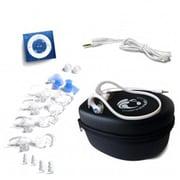 Underwater Audio Blue Waterproof iPod HydroActive Bundle(URWT016)