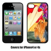 Carolines Treasures Lady With Her Yorkie Iphone4 Cover(CRLT16783)