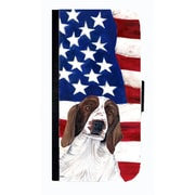 Carolines Treasures USA American Flag With Welsh Springer Spaniel Cell Phone Case Cover For Galaxy S3(CRLT33739)
