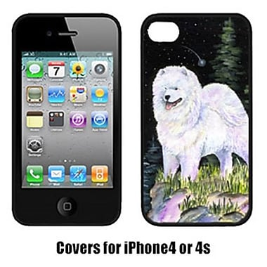 Carolines Treasures Starry Night Samoyed Iphone4 Cover(CRLT16645)