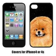 Carolines Treasures Starry Night Pomeranian Cell Phone Cover Iphone 4(CRLT16213)