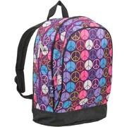 Wildkin Peace Signs - Purple Sidekick Backpack - Ashley Rosen(WLDKRTL147)