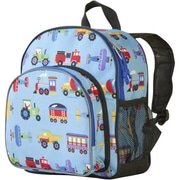 Wildkin Olive Kids Trains Planes & Trucks Pack n Snack Backpack(WILD295)