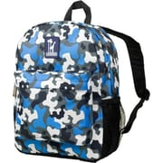 Wildkin Blue Camo Crackerjack Backpack - Ashley Rosen(WLDKRTL39)
