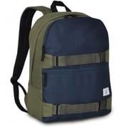 Everest BP200-OLI-NY Griptape Skateboard Backpack - Olive & Navy(EVRT741)