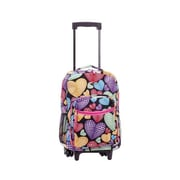 Fox Luggage 13 x 10 x 17 in. Rolling Back Pack - Newheart(FXL611)
